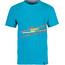 La Sportiva M's Stripe 2.0 T-Shirt Tropic Blue